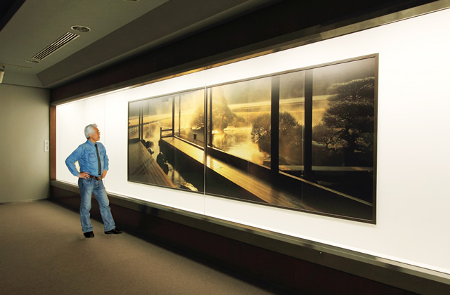 1.8m×5.4m の大パノラマ写真(流店)